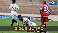 Universitario de Deportes igualó 0-0 ante Sport Huancayo y sigue colero