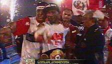 Box: Carlos 'Mina' Zambrano retuvo su título mundial peso pluma