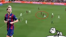 Barcelona: Ivan Rakitic marcó una 'pepaza' ante la Roma