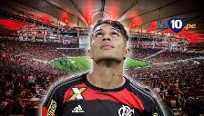 Paolo Guerrero: con este cabezazo casi convierte en el Flamengo vs. Palmeiras