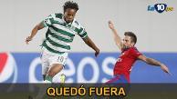 Sporting de Lisboa cayó 3 a 1 ante el CSKA Moscú