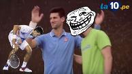 Youtube: Novak Djokovic es humillado por joven tenista que hace trucos asombrosos
