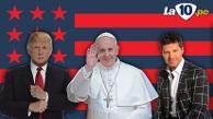 Donald Trump quiere comprar al San Lorenzo del papa Francisco