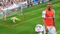 Youtube: el increíble gol que falló Theo Walcott con el Arsenal