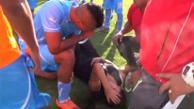 YouTube: periodista fue agredida en la Copa Perú