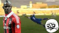 Youtube: Mario Balotelli marcó 'pepaza' en  segundo debut con el AC Milan