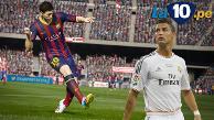 FIFA 2016: Lionel Messi es mejor que Cristiano Ronaldo en el videojuego