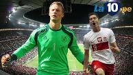 Alemania vs. Polonia: Manuel Neuer y un tapadón enorme a Robert Lewandowski
