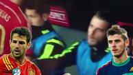 YouTube: David de Gea fue ignorado por Cesc Fabregas en el banco de España