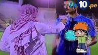 Youtube: entrevistador árabe cumplía su trabajo y le cayó un globazo de agua