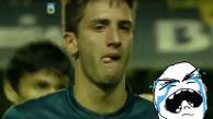 YouTube: juvenil de Boca Juniors cometió blooper con el que su equipo perdió