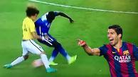 YouTube: David Luiz volvió a sufrir una huacha en el Brasil vs. Estados Unidos