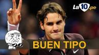 Youtube: Roger Federer y su gran gesto con niño que lloraba