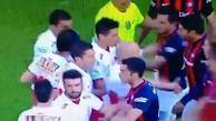 YouTube: jugadores de San Lorenzo y Huracan se pelean antes iniciar el partido