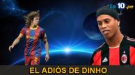 Youtube: El día que el Barcelona homenajeó al Ronaldinho en el Camp Nou