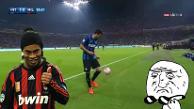 YouTube: el lujo de un jugador del Inter de Milan para sacar un lateral