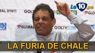 Universitario de Deportes: Roberto Chale se peleó con periodista