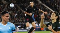 YouTube: Zlatan Ibrahimovic y su pase gol de taco para Edinson Cavani