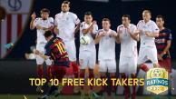 Lionel Messi entre los 10 mejores pateadores de tiro libre del FIFA 16