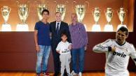 YouTube: Real Madrid recibió al niño sirio que fue agredido por una reportera