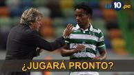 André Carrillo: entrenador de Sporting de Lisboa explicó porque no lo convocó