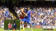 Diego Costa y una acción que indignó al mundo fútbol en el Chelsea vs. Arsenal