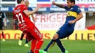 YouTube: Carlos Tévez lesionó de manera espeluznante a jugador rival con esta patada