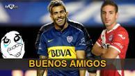 Instagram: Carlos Tévez visitó a jugador que lesionó y mostró estar en paz