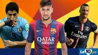 Facebook: Neymar es el mejor del mundo... luego de Messi y Cristiano Ronaldo