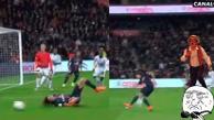 Youtube: Zlatan Ibrahimovic falló un penal y Edinson Cavani entró en 'chiripiorca'