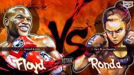 YouTube: Ronda Rousey y Floyd Mayweather se enfrentaron en Street Fighter