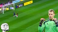 YouTube: arquero humilló a Valdivia con amague al estilo Manuel Neuer