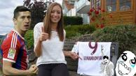 YouTube: Anja Lewandowski marcó cuatro goles en un partido y 24 horas después que Robert