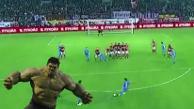 YouTube: Hulk volvió a destrozar el arco rival con un tiro libre en Rusia