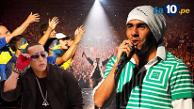 Carlos Tévez festejó el triunfo de Boca Juniors junto a Daddy Yankee
