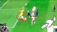 Youtube: terrible golpe termina con un 'nocaut' en la Champions League