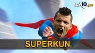 Sergio Agüero convirtió cinco goles en 20 minutos con Manchester City