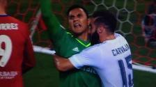 YouTube: Keylor Navas realizó espectacular atajada en penal en contra del Real Madrid