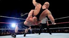 WWE: Brock Lesnar venció al Big Show con un súplex espectacular
