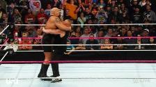 WWE: Brock Lesnar volvió a castigar a The Big Show a puro súplex