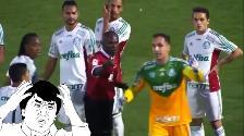 YouTube: árbitro admitió que se equivocó en tarjeta roja y llamó al jugador de vuelta