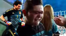 YouTube: Iker Casillas cumple el sueño de un niño