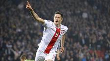 Eurocopa 2016: Robert Lewandowski marcó doblete y lleva 14 entre selecciones y clubes