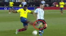 Eliminatorias Rusia 2018: así fue la lesión de Sergio Agüero contra Ecuador