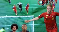 YouTube: Kevin de Bruyne marcó el mejor gol del fin de semana en Eurocopa Francia 2016