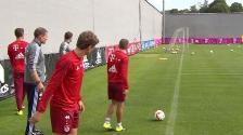YouTube: cracks de Bayern Munich enseñan a meter goles olímpicos