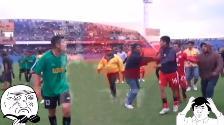 YouTube: lamentable incidente en choque por la Copa Perú