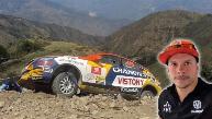 Mario Hart: así quedó su auto tras accidente en Caminos del Inca