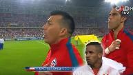 YouTube: Gary Medel arremetió con furia contra hinchas peruanos por pifiar himno de Chile