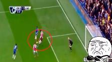 YouTube: el gol más extraño de la Premier League lo protagonizó Diego Costa